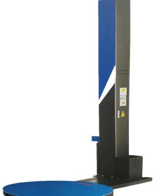 Motoros előnyújtós raklapfóliázógép