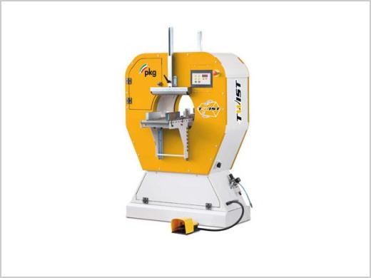 spirális stretchfóliázó gép